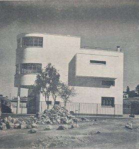 Το δημοτικό σχολείο της Γούβας τα πρώτα χρόνια κατασκευής του.